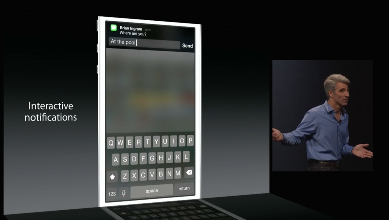 WWDC iOS8 AndroDollar1 - Apple announces iOS 8 with New Features at WWDC 2014