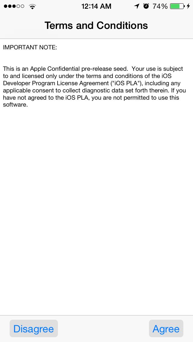 iOS8Beta2 iPhone5S AndroDollar 2 - iOS 8 Beta 2 Now Seeding to Developers [Download ipsw here]