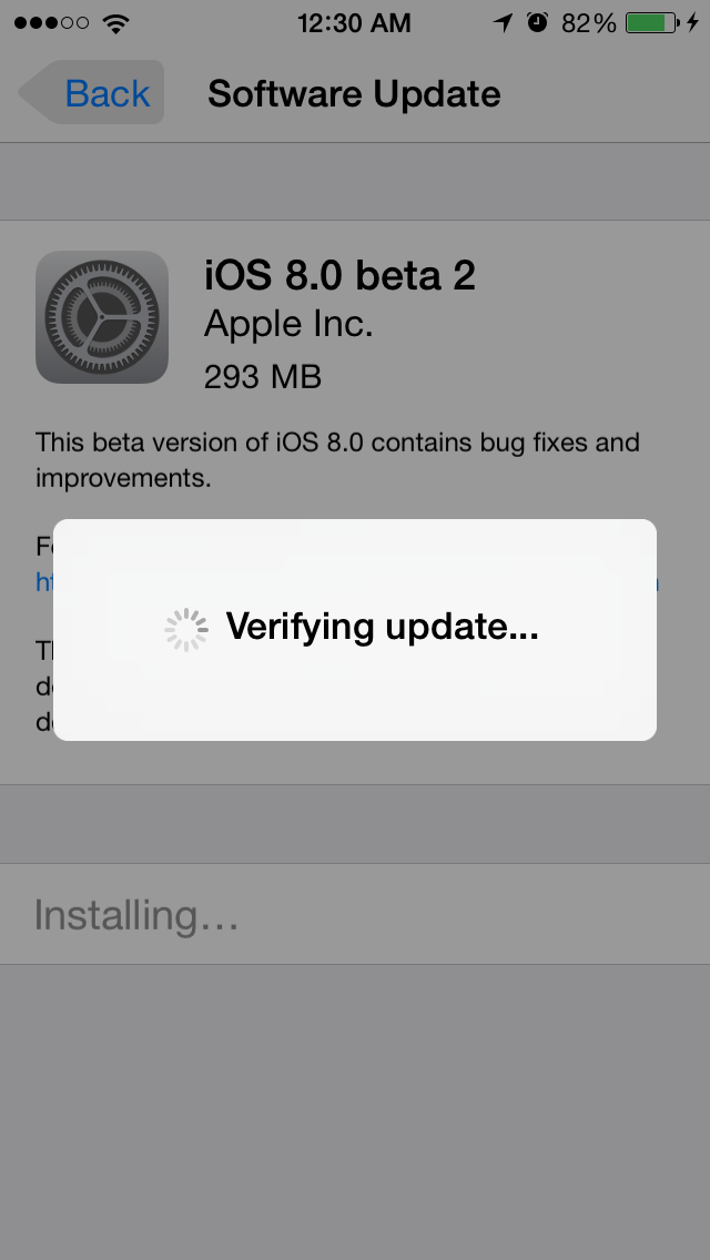 iOS8Beta2 iPhone5S AndroDollar 6 - iOS 8 Beta 2 Now Seeding to Developers [Download ipsw here]