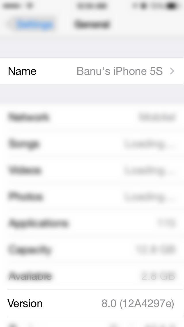 iOS8Beta2 iPhone5S AndroDollar 8 - iOS 8 Beta 2 Now Seeding to Developers [Download ipsw here]