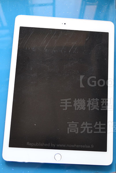 iPadAir2 AndroDollar 1 - LEAKED : Apple iPad Air 2 with Touch ID Shown off in a series of Photos