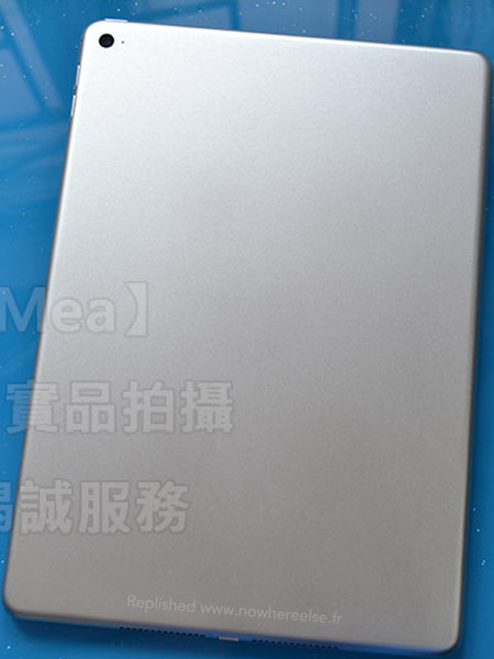 iPadAir2 AndroDollar 3 - LEAKED : Apple iPad Air 2 with Touch ID Shown off in a series of Photos