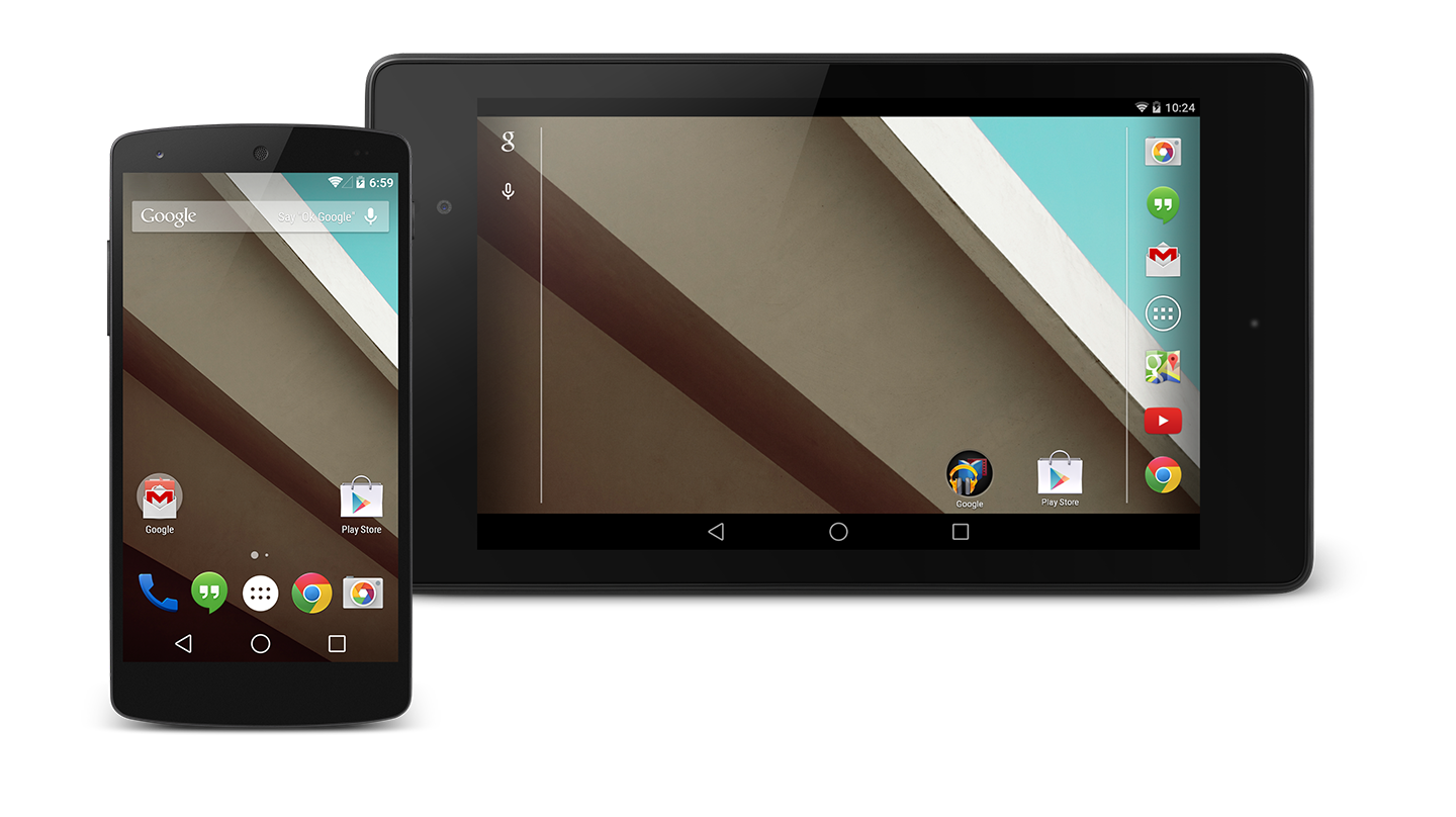 l dev prev1 - Google Announces Android L Developer Preview at Google I/O 2014