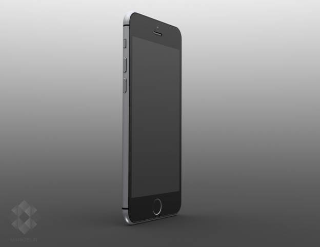 1mp iphone6 render standing - Apple sends out Press Invitations for the Launch of the iPhone 6; Here's everything you need to know