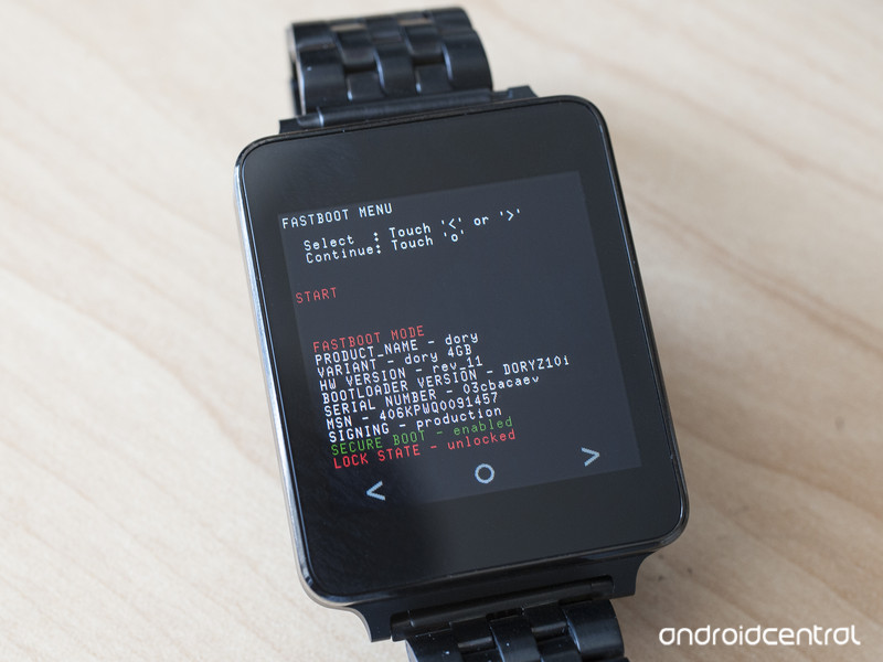 lg g watch bootloader - LG G Watch gets it's First Android Wear Custom Rom
