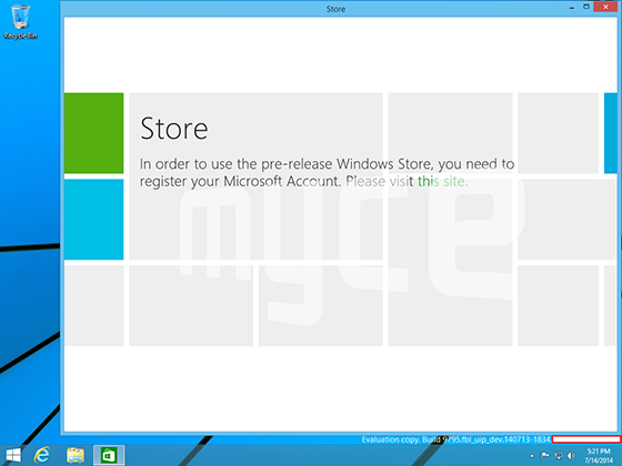 windows9leak2 560 - LEAKED : Windows 9 Screenshots showcasing the Start Menu Layout