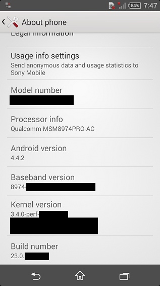xperia z3 compact screenshot - LEAKED : Sony Xperia Z3 and Z3 Compact Live Images and Screenshot