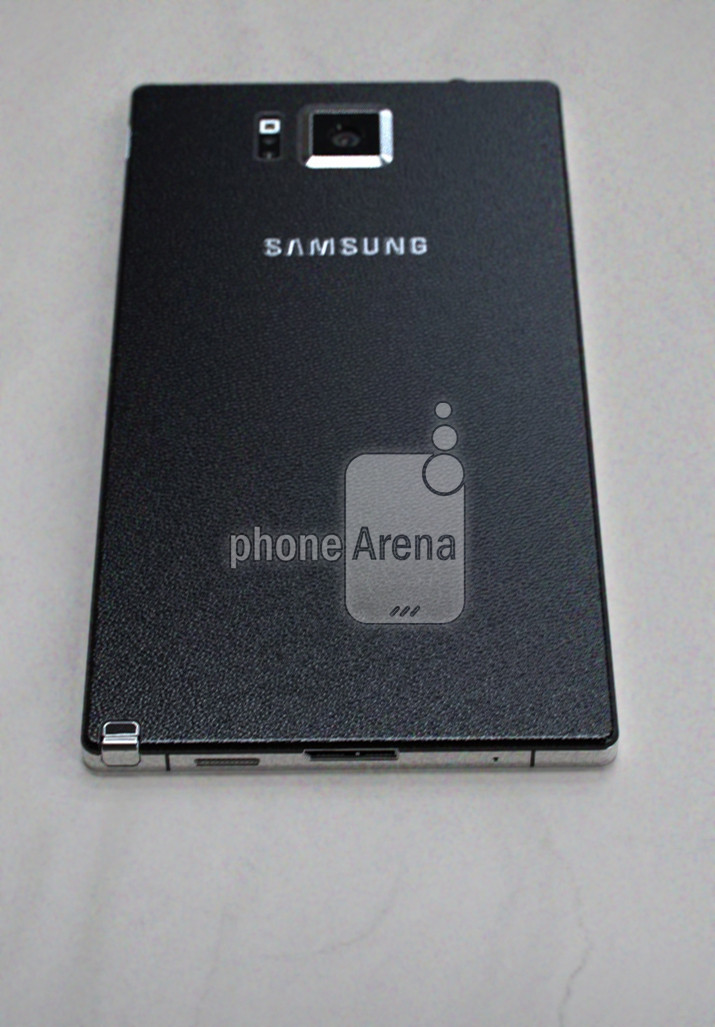 Earlier leak of the Samsung Galaxy Note 4 - UPDATED : LEAKED : Samsung Galaxy Note 4 with Metal Bezels, Redesigned S-Pen and Retail Box