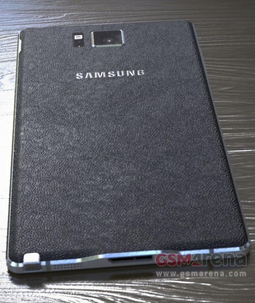 Galaxy Note 4 AndroDollar 2 - UPDATED : LEAKED : Samsung Galaxy Note 4 with Metal Bezels, Redesigned S-Pen and Retail Box