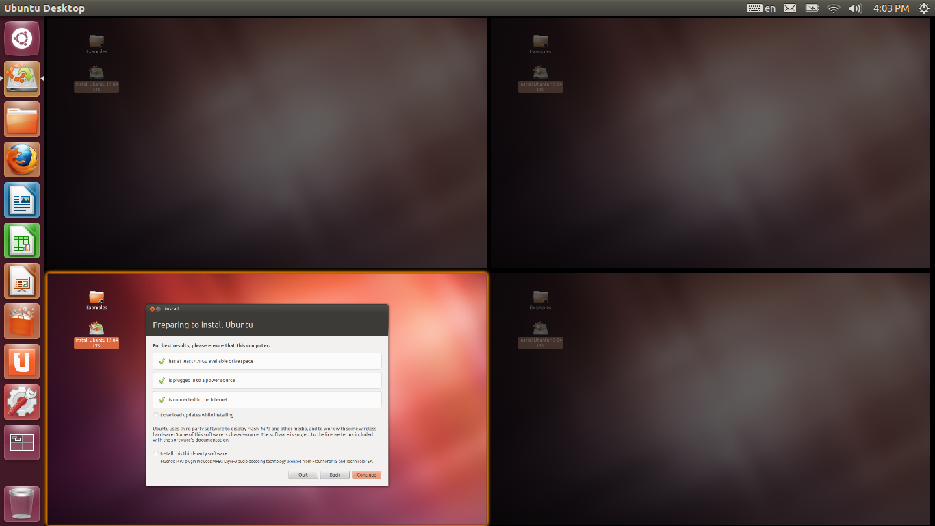 ubuntu 12.04 installer - Microsoft to Introduce Virtual Desktops with Windows 9 and Kill the Charms Bar