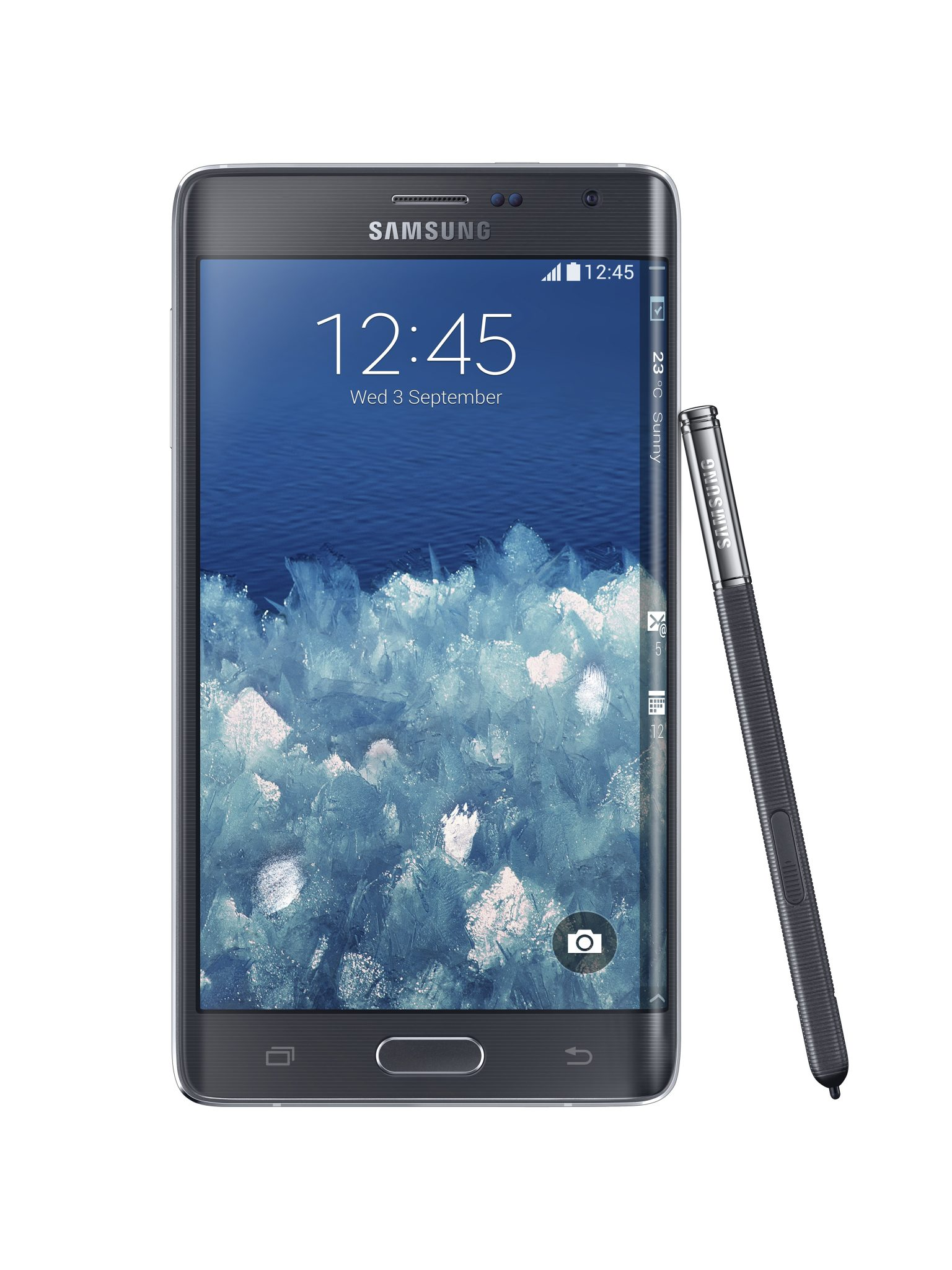 GalaxyNoteEdge AndroDollar 4 - Samsung Unveils the Galaxy Note Edge with a Curved Display; Here's Everything you need to know