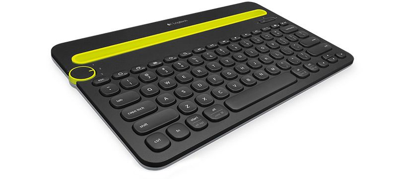LogitechK480Keyboard AndroDollar 2 - Logitech unveils the K480; A Keyboard that can connect to 3 Devices Simultaniously