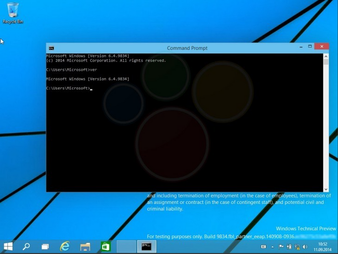 Windows9 Build9834 Leaked AndroDollar 15 - LEAKED : 20 Windows 9 Screenshots & A Video show some Interesting changes