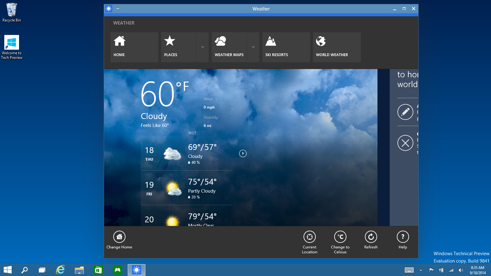 App Commands - Microsoft Unveils Windows 10 with Major Improvements [Download Link Here]