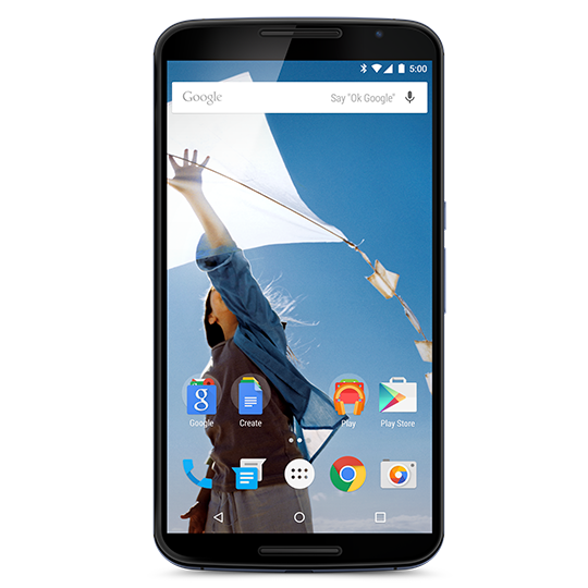 MOTO NEXUS MORE ROOM CARD 540nyxtuy59 1 - Google Makes the Nexus 6 running Android Lollipop Official