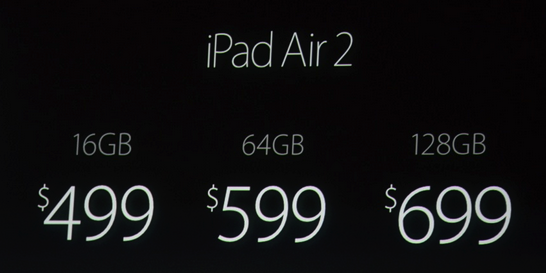 Snip20141016 10 - Apple unveils the iPad Air 2 as the Thinnest Tablet in the World