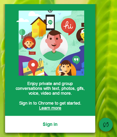chrome hangouts - Google Refreshes Hangouts for Windows and Chrome OS with a Floating Chat Bubble