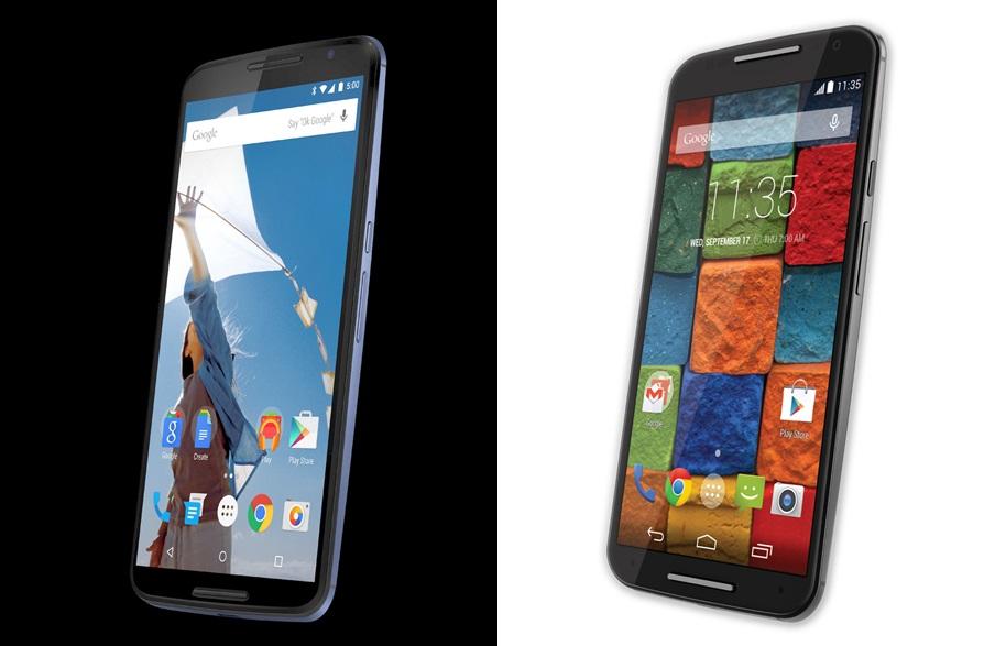 nexus 6 vs moto x 2014 c1 - The Nexus 6 Leaks out in an Official Press Render