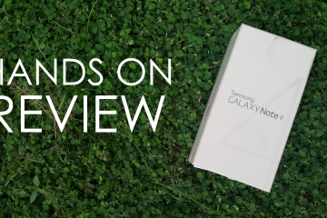 Galaxy Note 4 Hands On – Andro Dollar