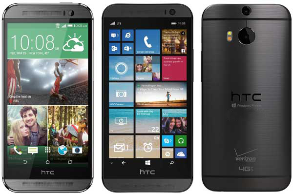 HTC One M8 Windows Phone Verizon - TOP 10 : Smartphones of 2014
