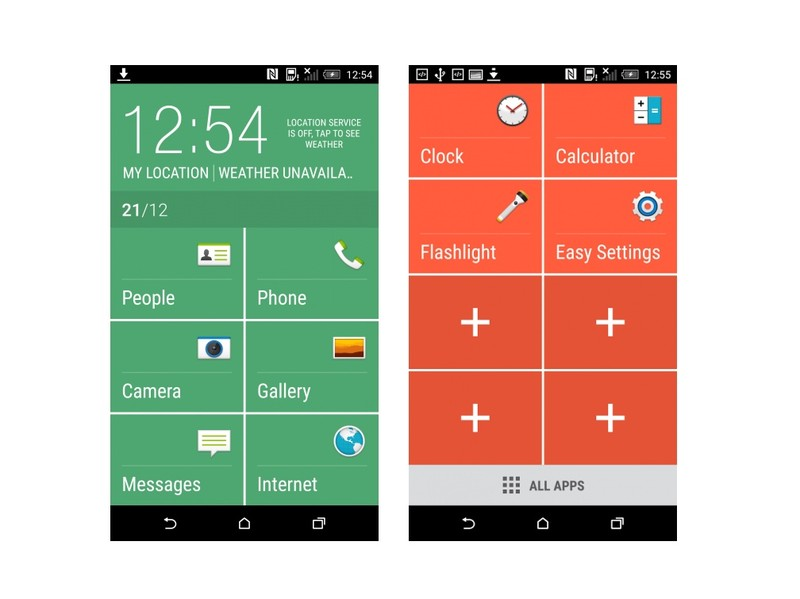 android501 sense6 easymode screenshot 0 - Leaked Images & Video show Android Lollipop with Sense 6 running on the HTC M8