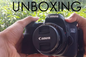 Canon 70D Unboxing – Andro Dollar