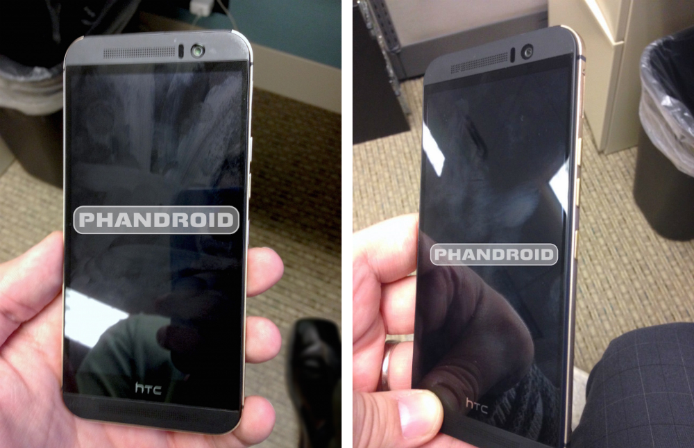 HTC Hima One M9 - UPDATED : Leaked Images reveal the HTC One M9 for the First Time
