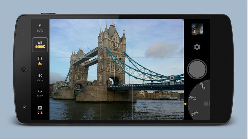 Manual Camera Android – Andro Dollar 1