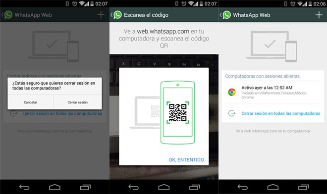 Whatsapp PC Andro Dollar - Leaked Images reveal that Whatsapp is going to Introduce a Web Client Soon