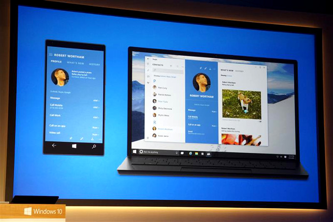 Windows 10 on phones - Microsoft Unveils Windows 10 for Smartphones