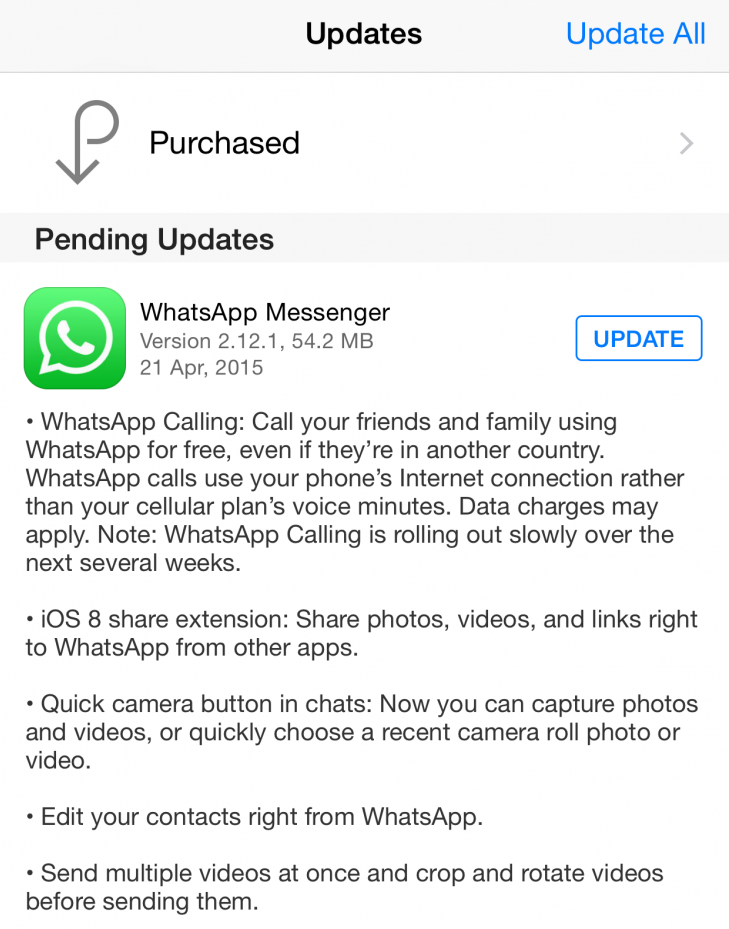 IMG 2012 730x1298 - WhatsApp starts rolling out Whatsapp Calls on iOS