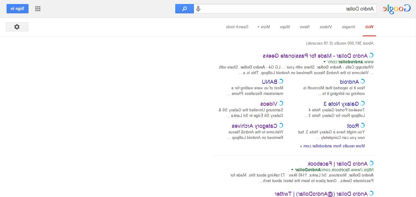 google - andro dollar 2