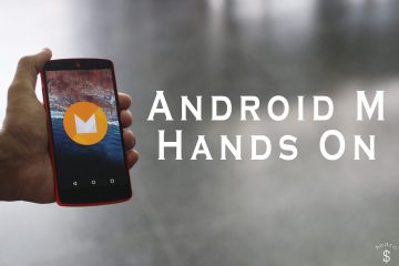 Android M Hands On Andro Dollar