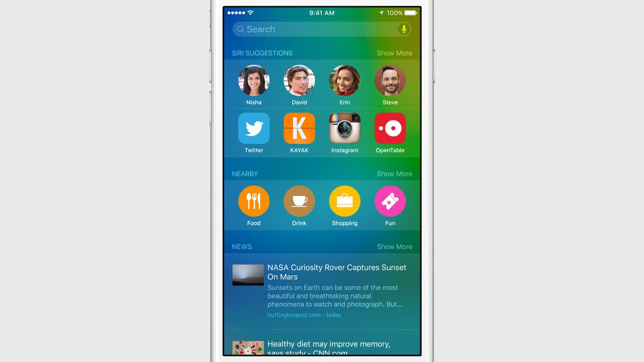 1 - Apple unveils iOS 9 at WWDC 2015