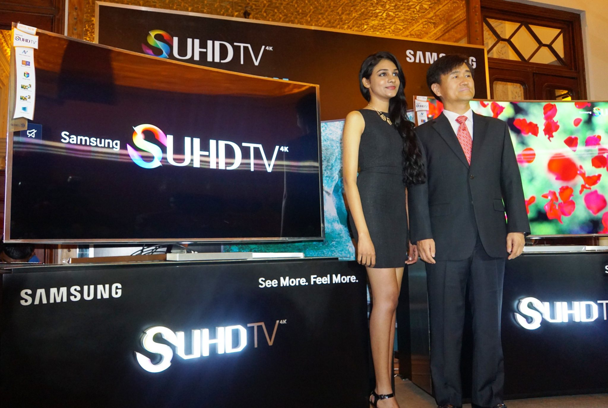 Image 1 - Samsung launches its all new SUHD Curved TVs in Sri Lanka