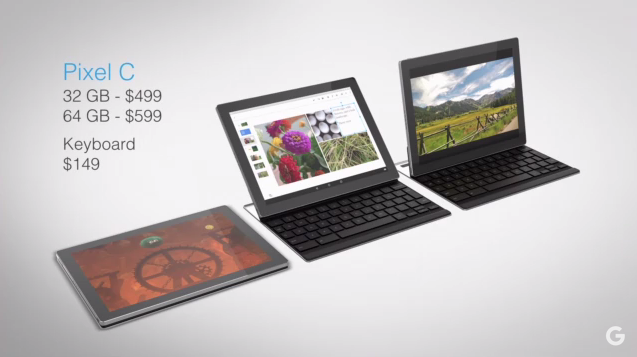 Google Pixel C 1 - Google unveils the Pixel C as a Laptop-Tablet Hybrid