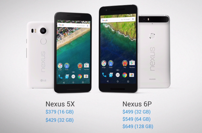 nexus h1.PNG - Google Unveils the Nexus 5X & Nexus 6P running Android Marshmallow
