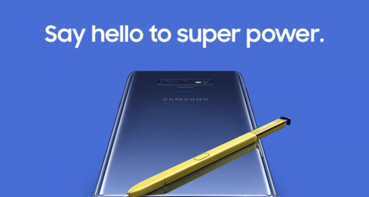 Screen Shot 2018 08 02 at 4.48.48 PM 750x400 - Samsung unveils the Galaxy Note 9 with a completely redesigned S-pen, massive battery and superb performance