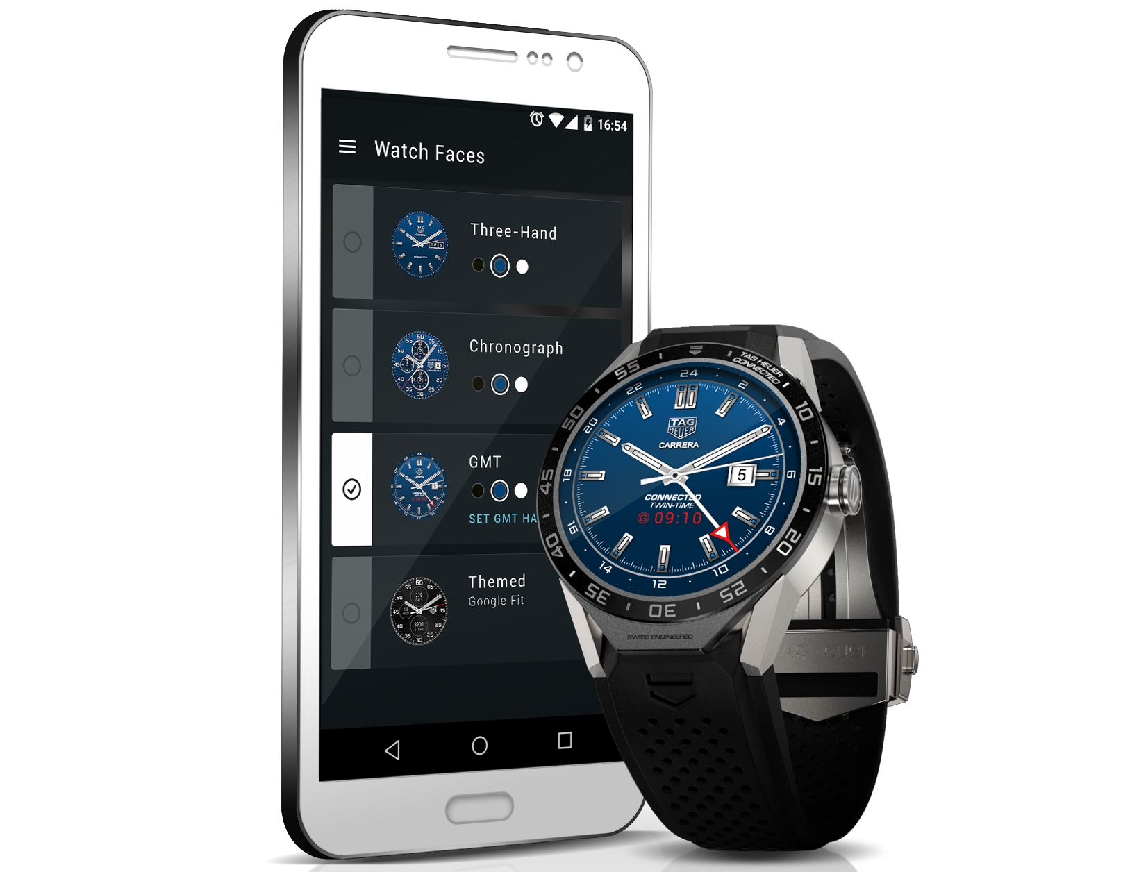 TAG Heuer Connected 2 - TAG Heuer Connected unveiled as the first Android Wear based luxury smartwatch