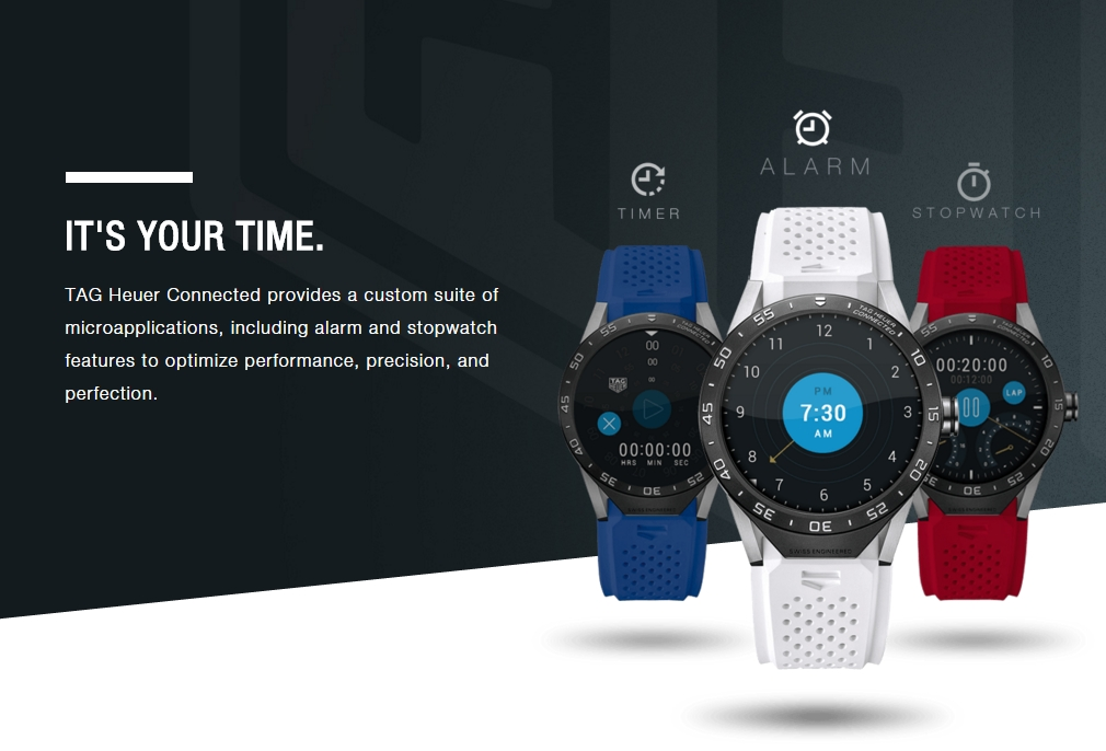 TAG Heuer Connected 3 - TAG Heuer Connected unveiled as the first Android Wear based luxury smartwatch