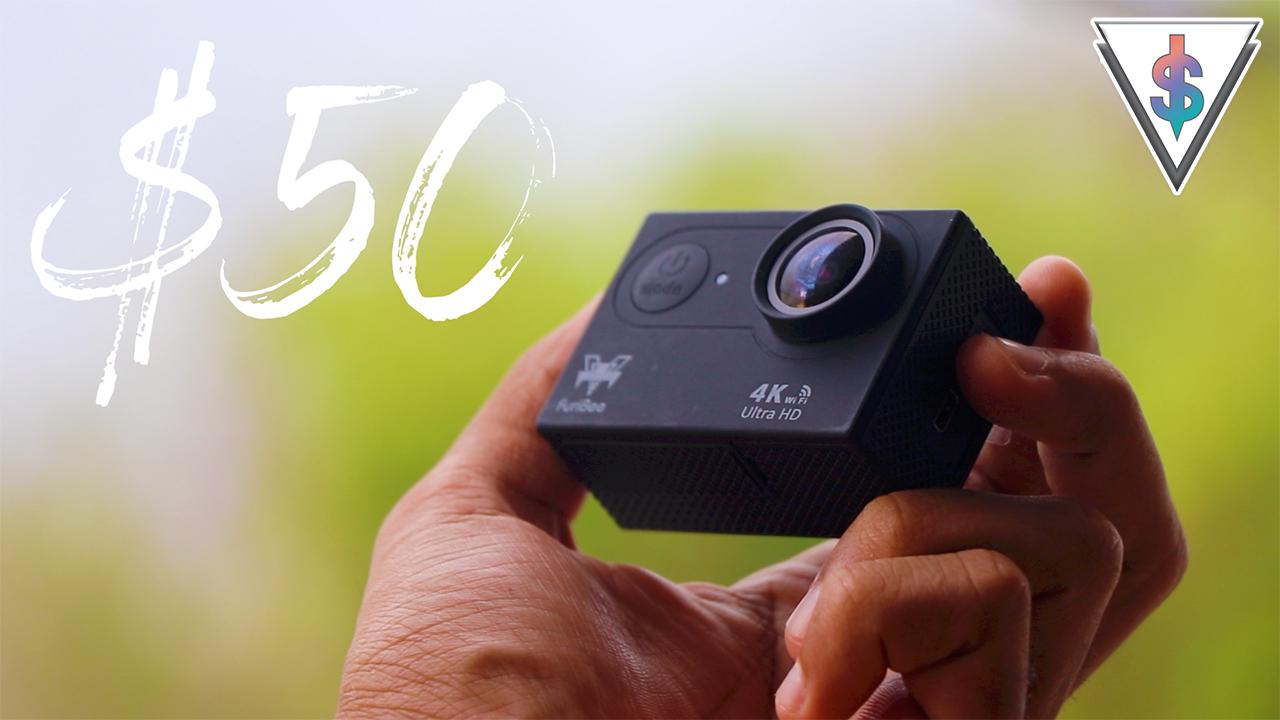 action camera 50 - Furibee H9R - Budget 4K Action Camera Review