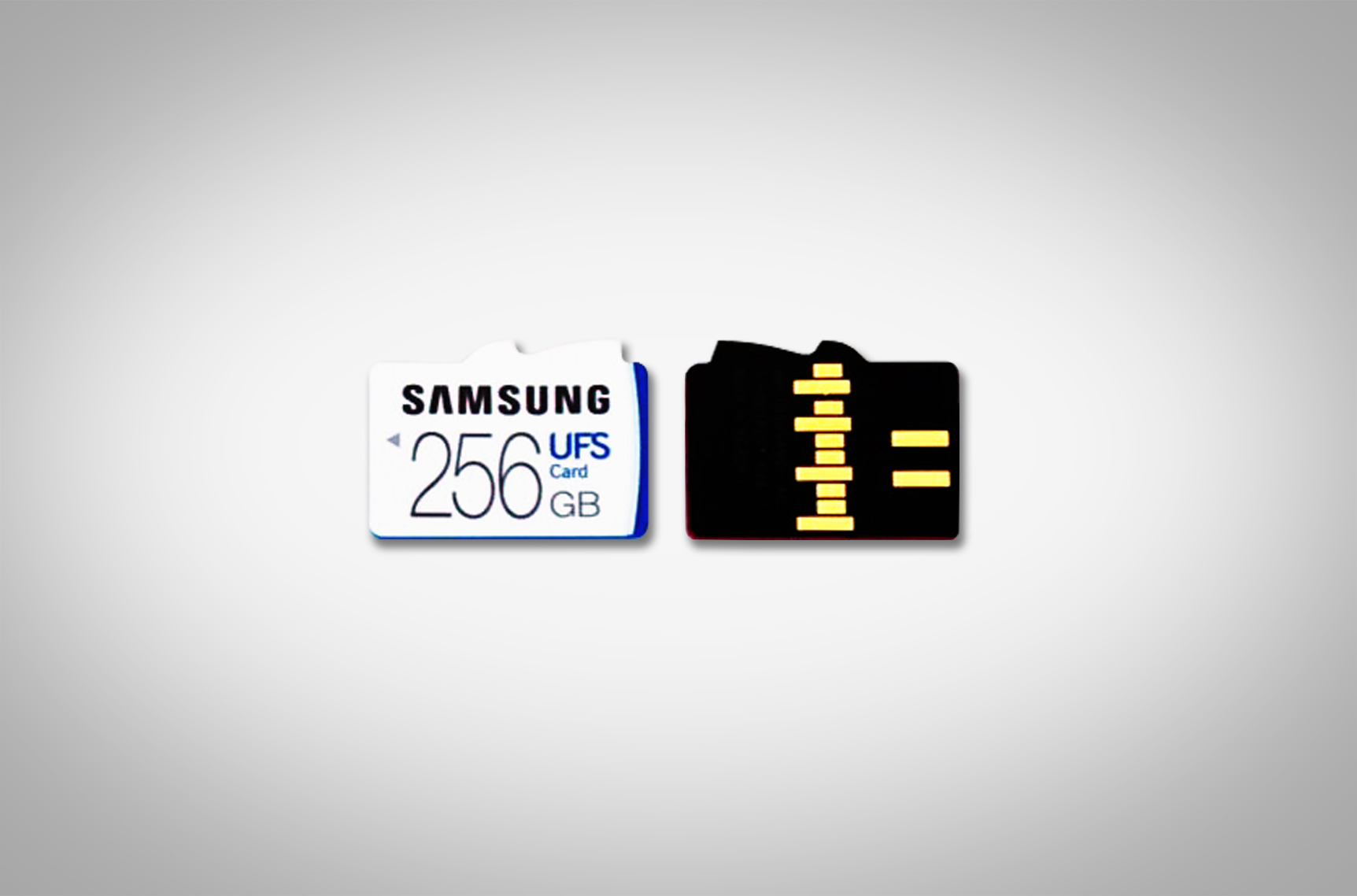 UFS 02 - Samsung unveils the sucessor to the MicroSD Cards as UFS Memory cards with much faster speeds