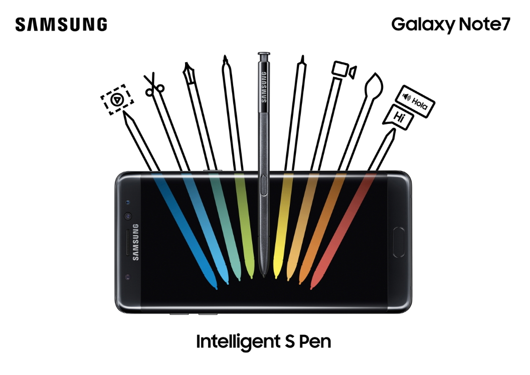 GalaxyNote7 KeyVisual 4 - Samsung unveils the Galaxy Note 7 with dual edges, iris scanner, water resistance and an enhanced S-Pen