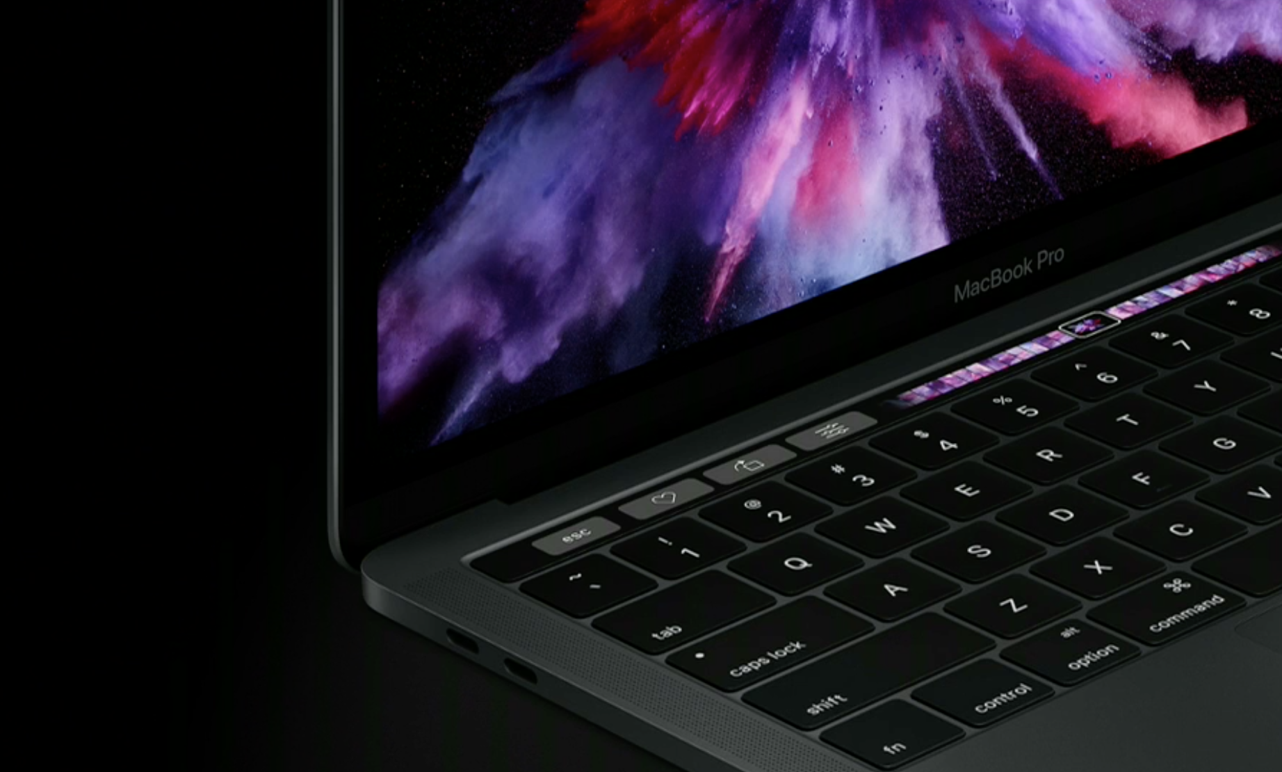 MacbookPro2016 - Apple announces a redesigned MacBook Pro with an all new Touch Bar