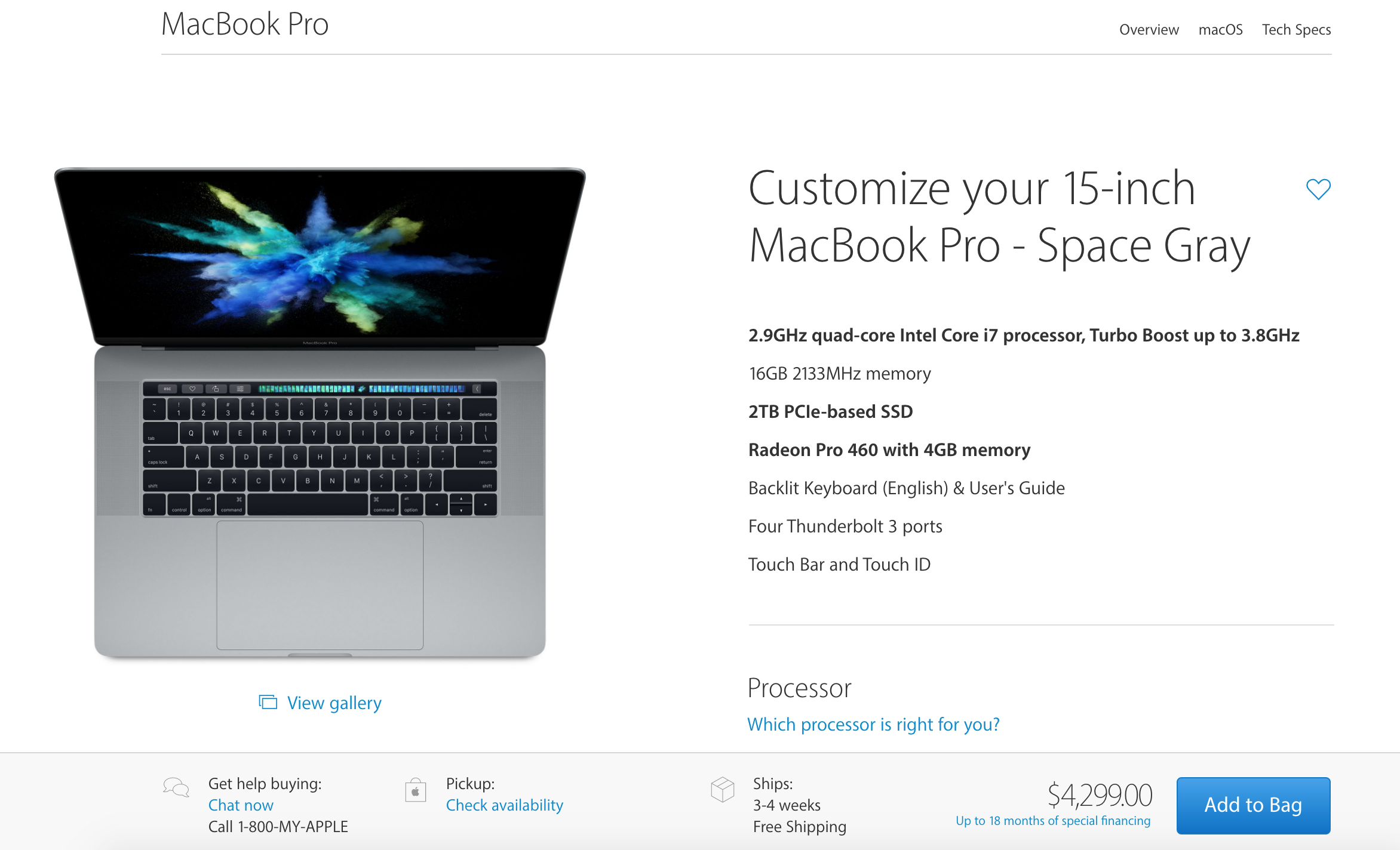 Screen Shot 2016 10 28 at 11.50.28 AM - Apple announces a redesigned MacBook Pro with an all new Touch Bar