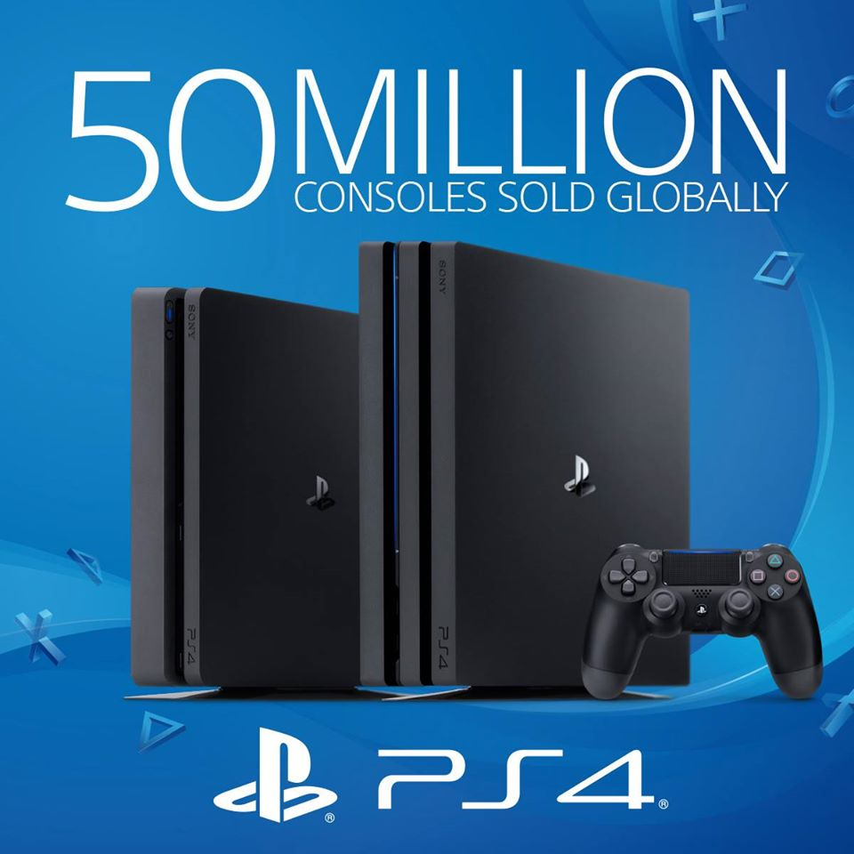 15369985 1687828714576450 8874405691059452092 o - Sony PlayStation 4 has sold 50 Million Units
