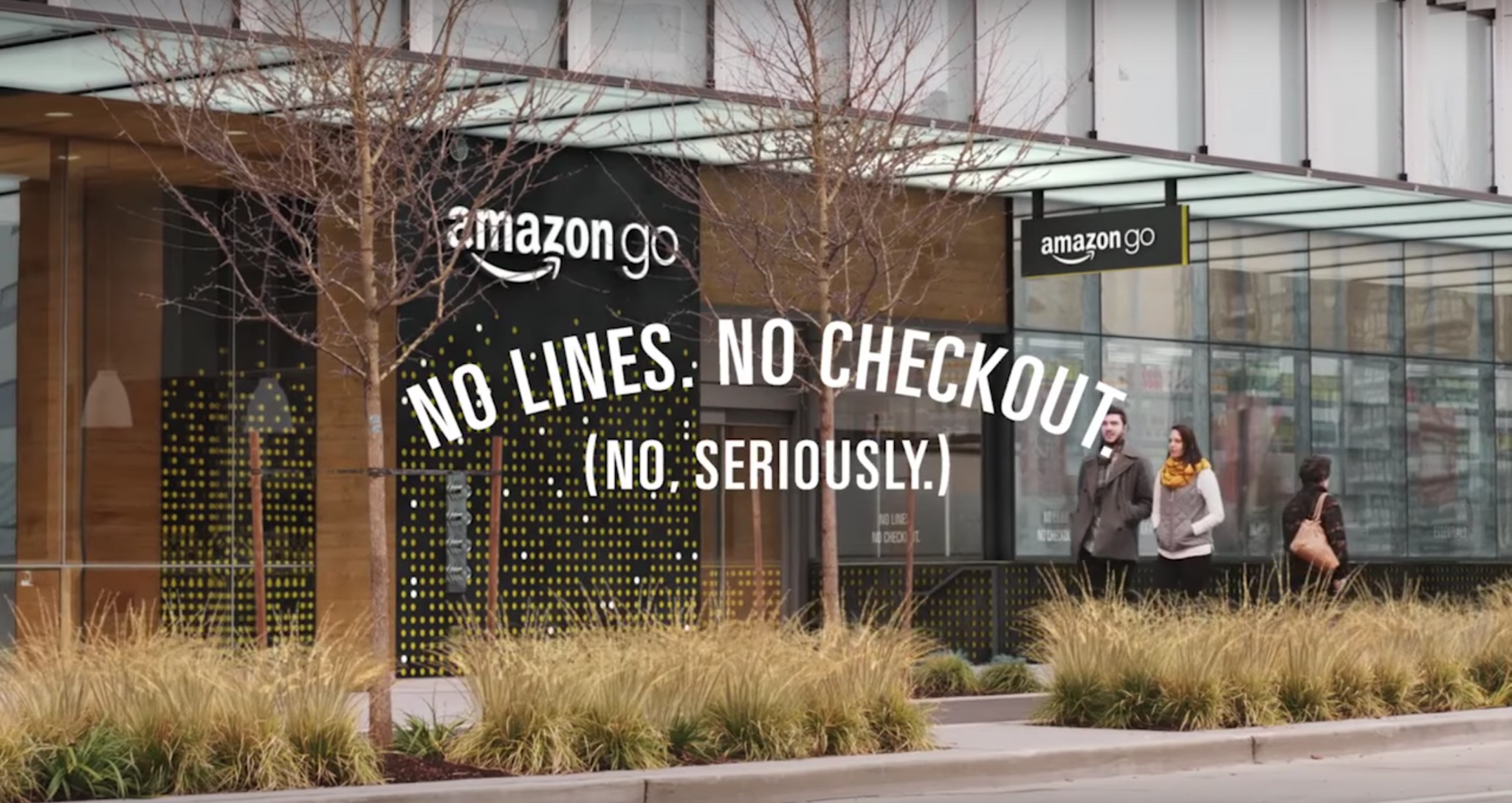AmazonGo Andro Dollar - Amazon makes shop lifting legal with Amazon Go