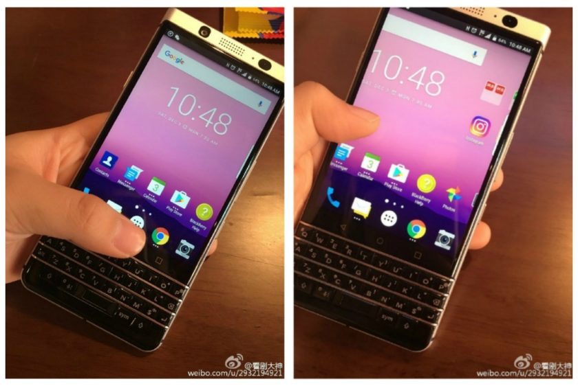 BlackBerry Mercury Android phone - Leaked Live Images reveal the Alleged BlackBerry Mercury with a QWERTY Keyboard