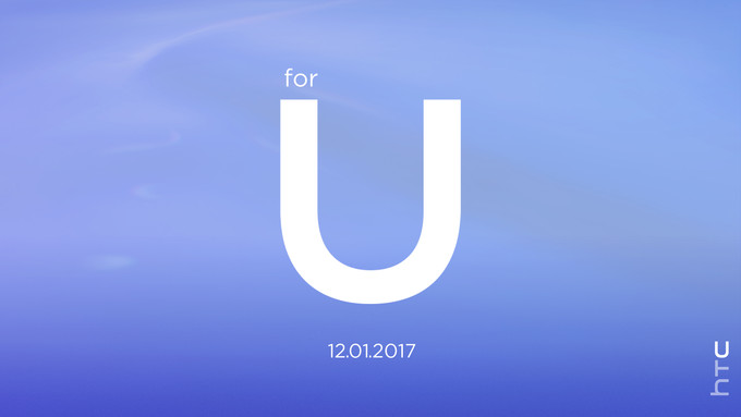 HTC U event 01 - HTC's sends press invitations for an event on January 12th