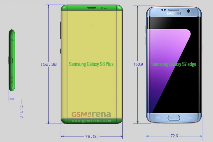 Rumored-dimensions-of-the-Samsung-Galaxy-S8-versus-those-of-the-Samsung-Galaxy-S7